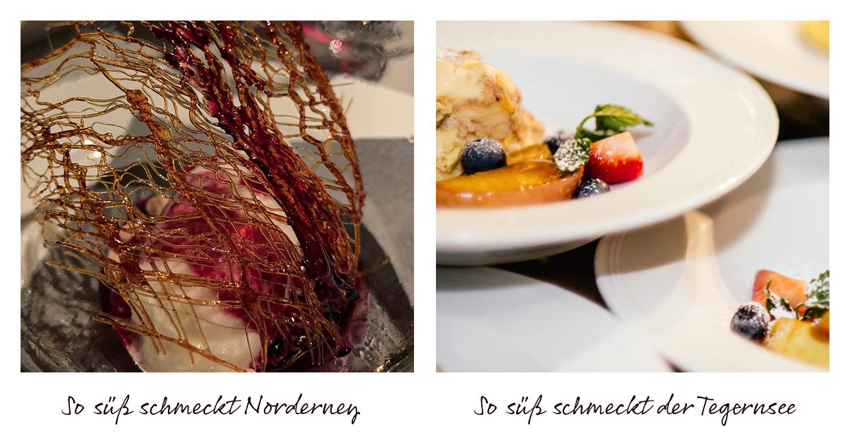 Food Berge und Meer