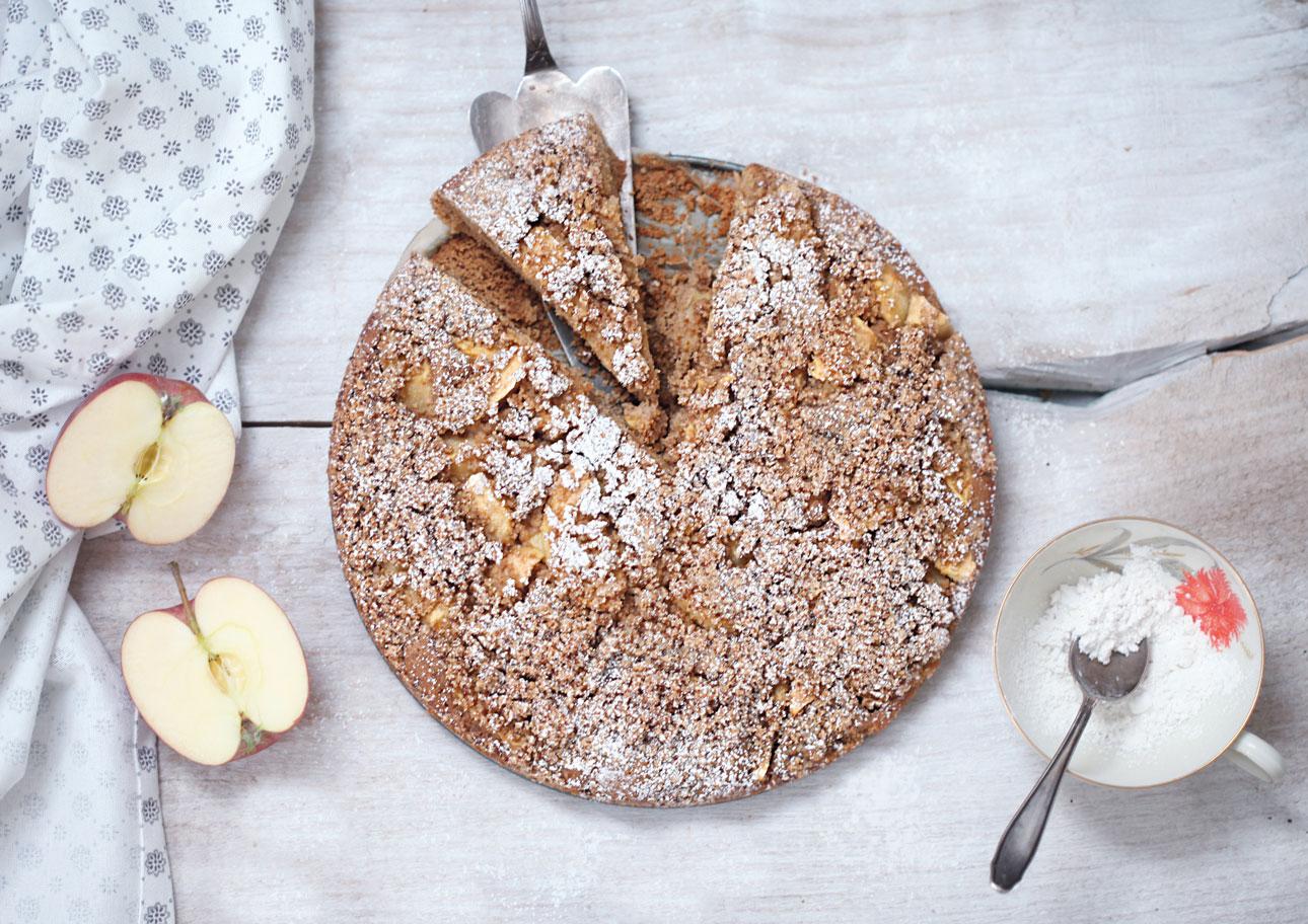 Apfelstreuselkuchen-Glutenfrei
