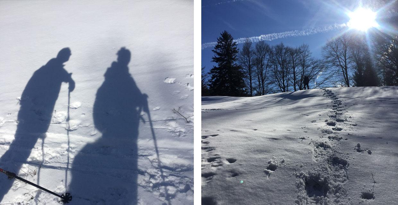 Schneeschuhwandern in Bayrischzell