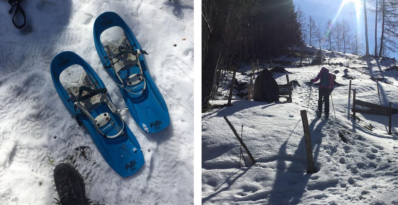 Schneeschuhwandern mit Willy Kravanja