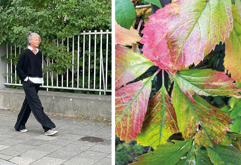 Herbstmode, Schwarz-Weiss,