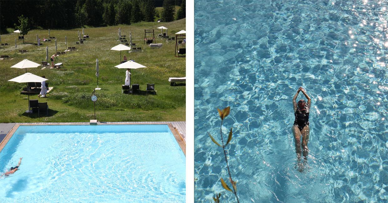 Schwimmen in Das Kranzbach