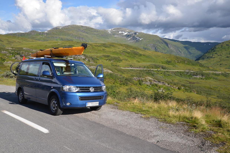 Mit dem Campingbus durch Europa