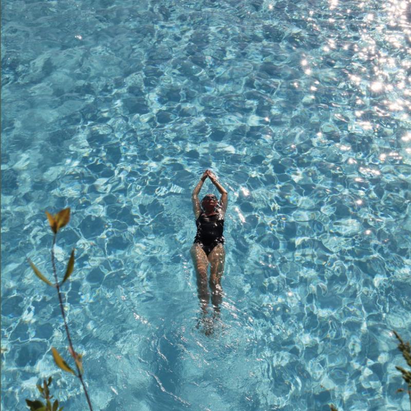 Schwimmen im Kranzbach